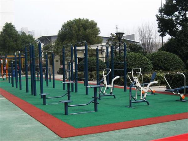 户外健身器材用天梯结构的优势